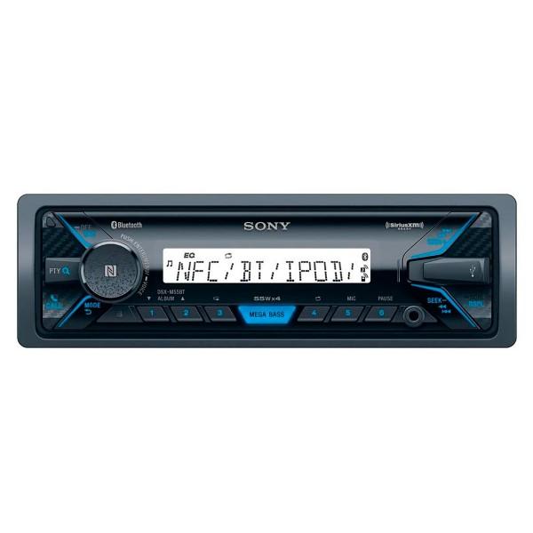 Sony dsx-m55bt receptor multimedia bluetooth nfc mega bass radio fm/am usb reproductor y aux