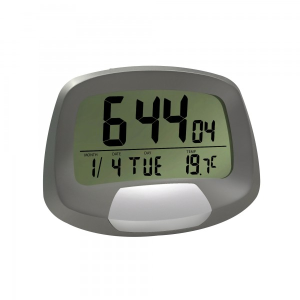 Reloj digital c/alarma y calendario