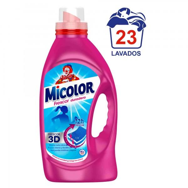 Micolor Detergente gel fresh 23 maquina