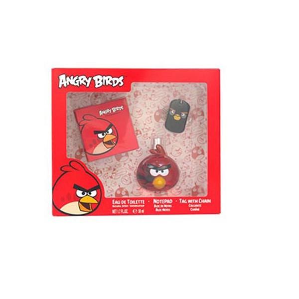 Angry birds red eau de toilette 50ml vaporizador + libreta + colgante