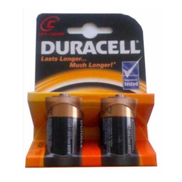 Duracell pilas basic c 2un.