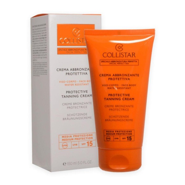 Collistar special perfect tan protective tanning cream spf15 150ml