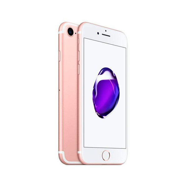 Apple iphone 7 128gb oro rosa reacondicionado cpo móvil 4g 4.7'' retina hd/4core/128gb/2gb ram/12mp/7mp
