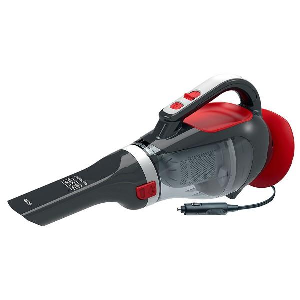 Black+decker adv-1200 dustbuster rojo recogetodo ciclónico para automóvil 12v 1.053l/min sistema de doble filtro incluye accesorios