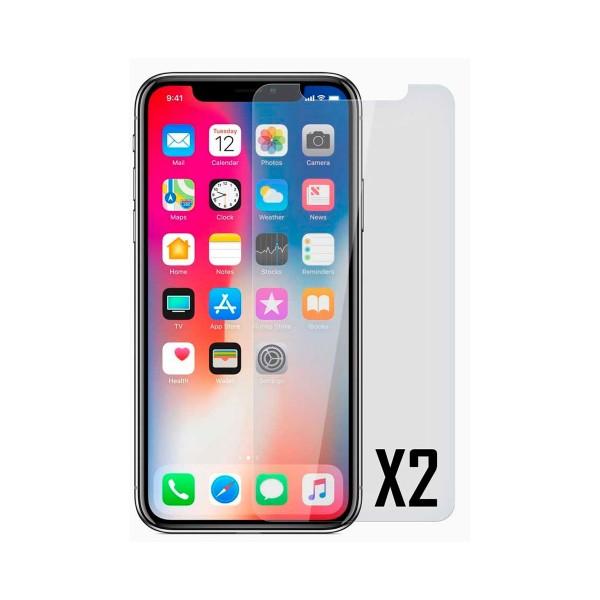 Akashi protector de cristal apple iphone xr (2 unidades)
