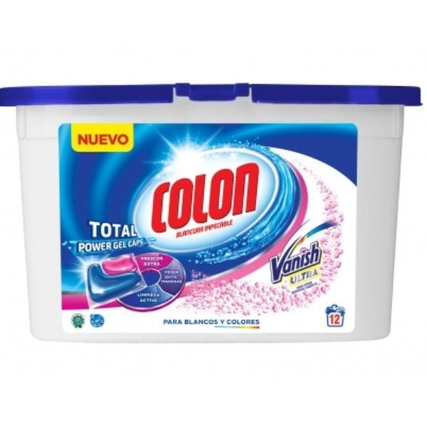 COLON GEL CAPS VANISH 12 u
