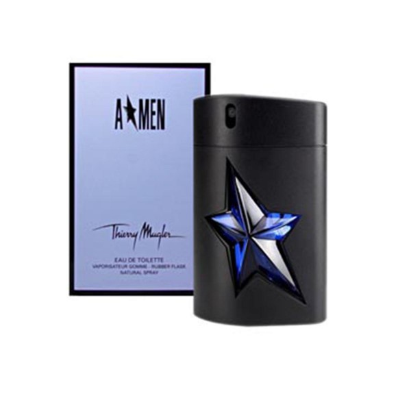 Thierry mugler a*men eau de toilette rubber 50ml recargable vaporizador