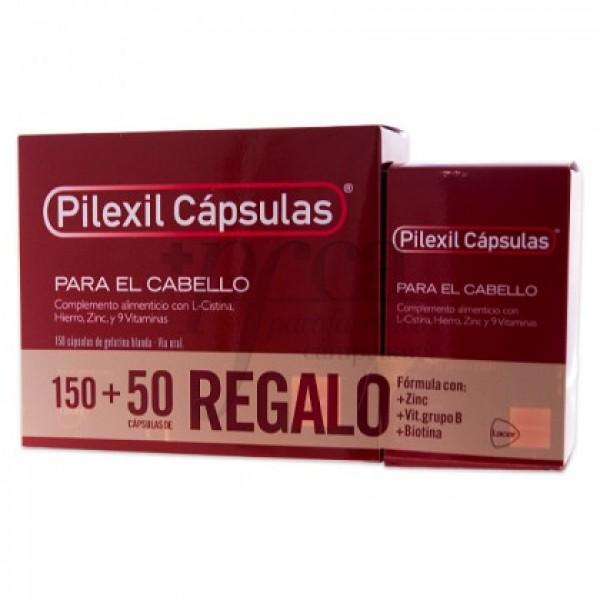 PILEXIL CAPSULAS 150+50 CAPSULAS REGALO PROMO