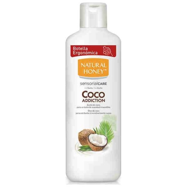 Natural Honey gel aceite de coco 650 ml.