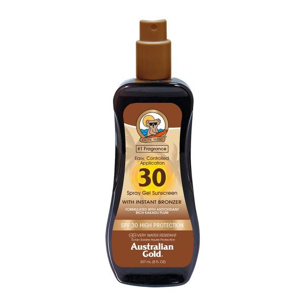 Australian gold bronzer spray gel spf30 237ml vaporizador