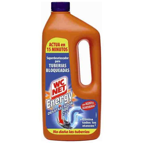 WC NET Energy desatascador líquido 1000 ml