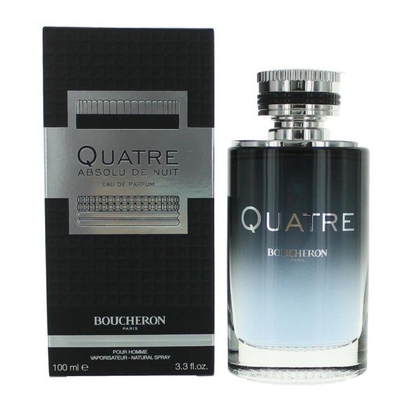Boucheron quatre absolu de nuit eau de parfum pour homme 100ml vaporizador