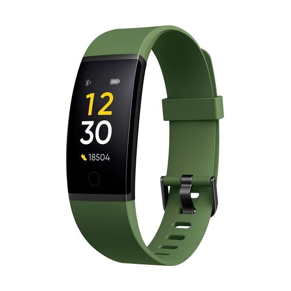 Realme band smartband verde 0.96'' pulsaciones notificaciones actividad deporte calidad de sueño