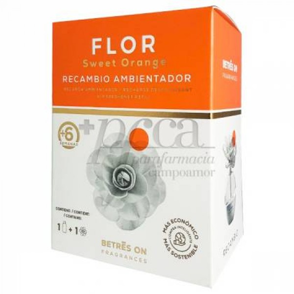 BETRES ON FLOR SWEET ORANGE RECAMBIO AMBIENTADOR
