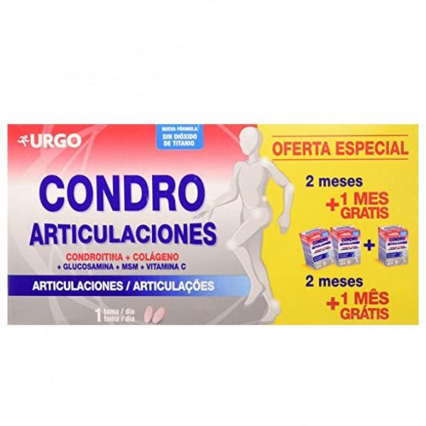 CONDRO ARTICULACIONES 3X 60 COMPS URGO PROMO