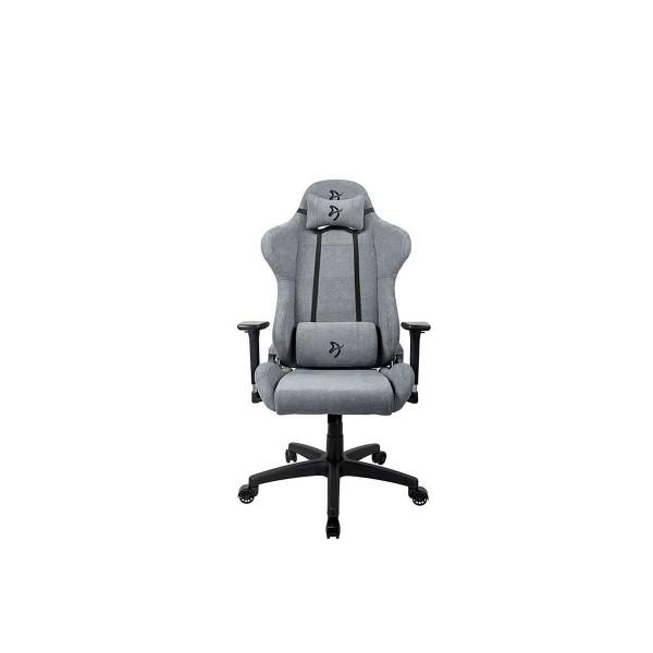 Arozzi torretta soft fabric silla gaming ceniza/función basculante