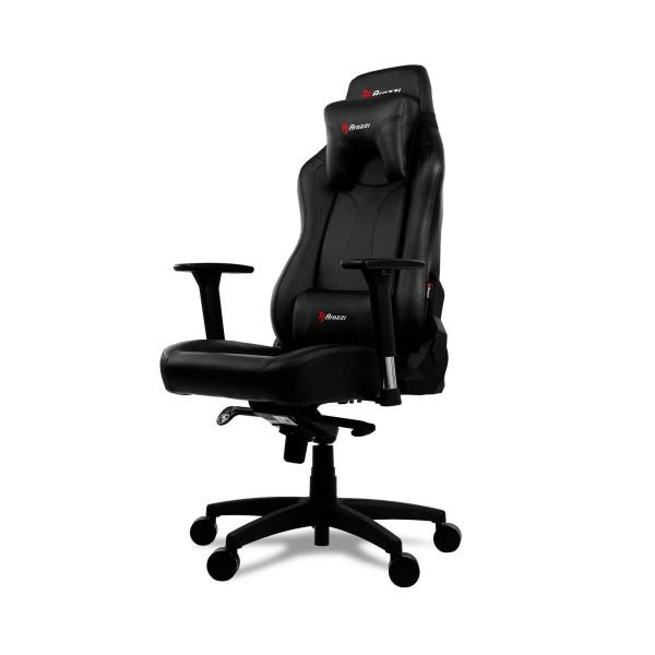 Arozzi vernazza silla gaming negra/ ergonómica 1ª categoría/cuero/multitud de funciones/ reposabrazos 3d/hasta 145kg